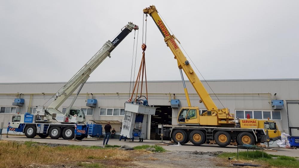 Crane Rental Timisoara